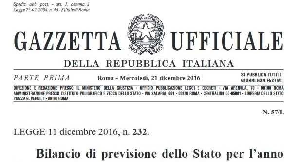 Legge 232/2016 Industria 4.0