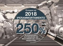 Rinnovato Super e Iperammortamento per il 2018