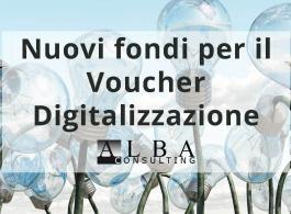 Nuovi fondi per far fronte al Voucher Digitalizzazione 2018