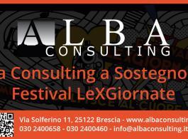 Alba Consulting supporta Musica e Cultura: LeXGiornate